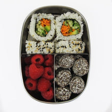 Load image into Gallery viewer,  Ever Eco Stainless Steel Bento Snack Box - 3 Compartment