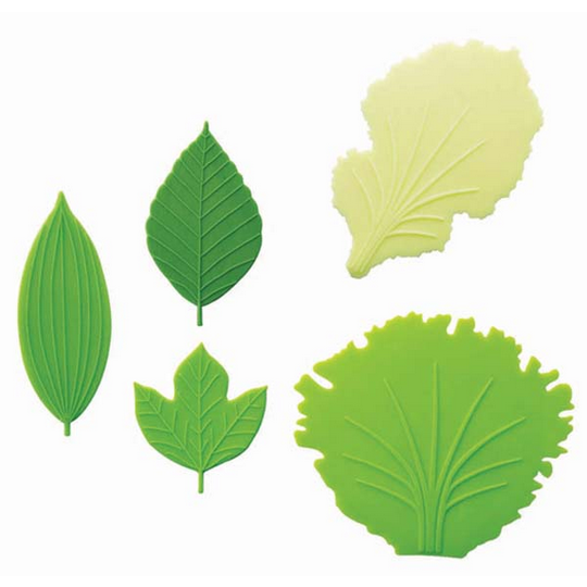 Silicone Lettuce & Leaf Lunch Box Dividers (Baran)