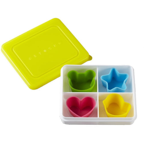 Snack Box & Silicone Cups