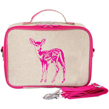 Load image into Gallery viewer, So Young Insulated Lunch Bag - Pink Fawn