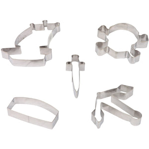Pirate Stainless Steel Cookie Cutter Set