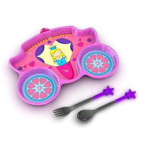 Funwares Princess Plate & Cutlery Set