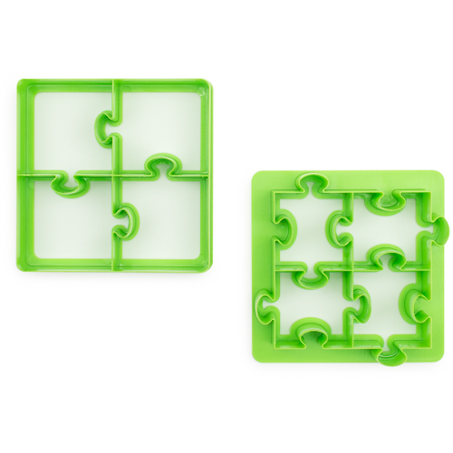 Lunch Punch Sandwich Cutters Puzzles - 2 Pack