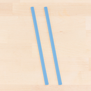 Re-Play Reusable Silicone Straw - Blue