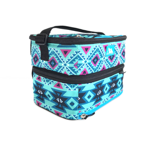 Arctic Zone Dual Compartment Lunch Bag - Aztec