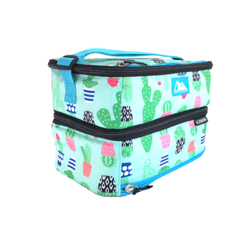 Arctic Zone Dual Compartment Lunch Bag - Cactus