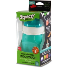 Load image into Gallery viewer, Squeasy Snacker 3.5oz / 104mls - Aqua Blue