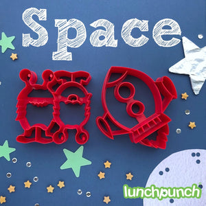 Lunch Punch Sandwich Cutters Space - 2 Pack