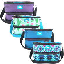 Load image into Gallery viewer, Arctic Zone Dual Compartment Lunch Bag - Sapphire Blue