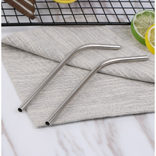 Load image into Gallery viewer, Stainless Steel Short (Cocktail) Bent Drinking Straw (SINGLE)