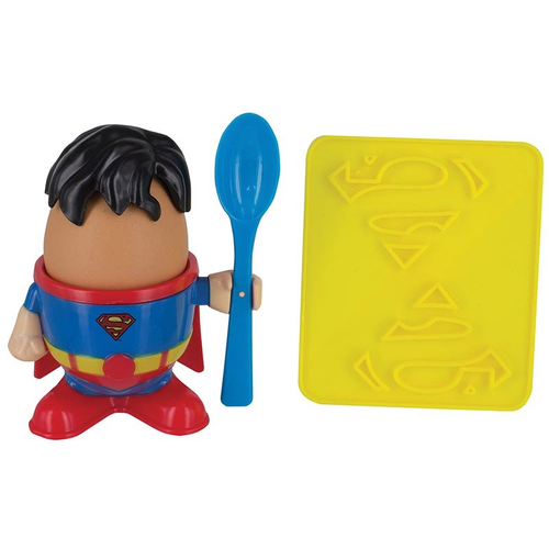 DC Comics Superman Egg Cup & Toast Cutter