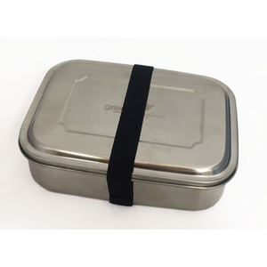 Green Essentials Stainless Steel Sustain-a-Bento TRIO with Elastic