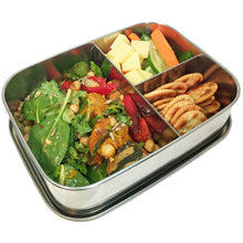 Load image into Gallery viewer, Green Essentials Stainless Steel Sustain-a-Bento TRIO with Elastic