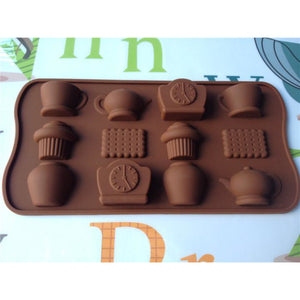 Tea Party Silicone Tray