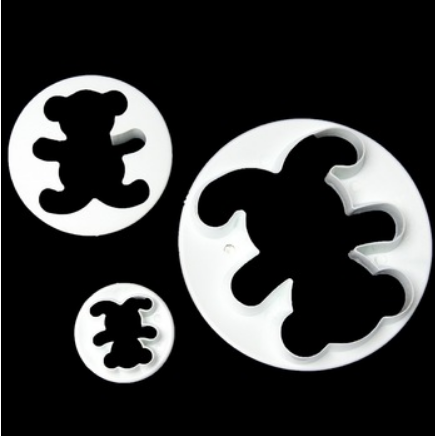 Teddy Bear Cookie Cutters (3 Sizes)