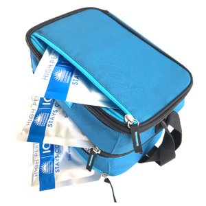 Arctic Zone Dual Compartment Lunch Bag - Sapphire Blue