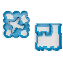 Load image into Gallery viewer, Lunch Punch Sandwich Cutters Transit - 2 Pack