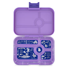 Load image into Gallery viewer, Yumbox Tapas 5 Compartment - Dreamy Purple