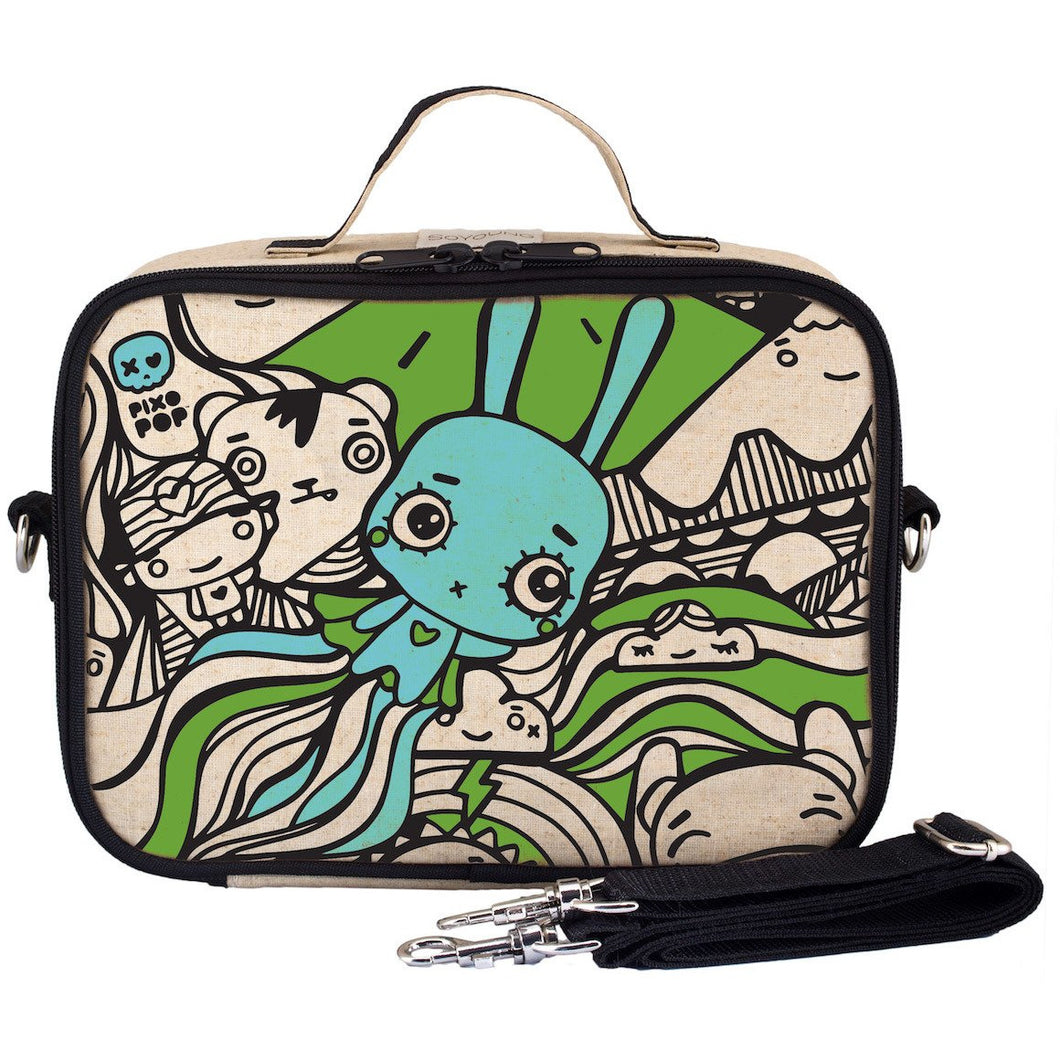 So Young Insulated Lunch Bag - Pixopop Bunny