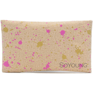 So Young Ice Pack with Sweat Free Cover - Fuchsia Gold Splatter
