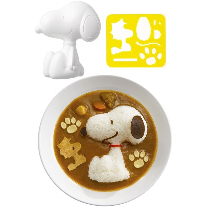 Rice Mould and Cutter Set - Snoopy