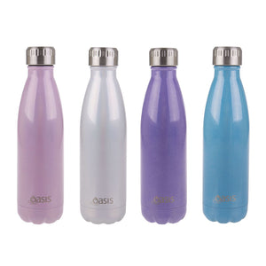 Oasis Stainless Steel Insulated Drink Bottle 500ml - Lustre Pearl