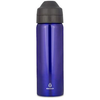 Ecococoon 600ml Stainless Steel Blue Sapphire Drink Bottle