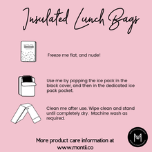 Load image into Gallery viewer, MontiiCo Insulated Lunch Bag - Mermaid