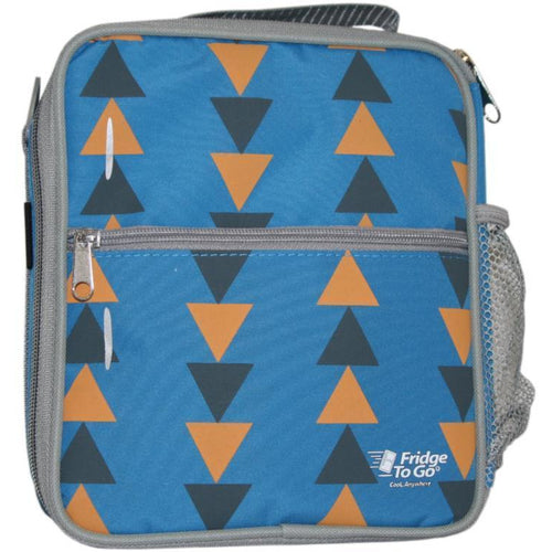 Fridge To Go Medium Lunch Bag Triangles