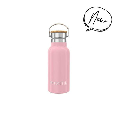 Montii Handbag Hero Mini Drink Bottle - Dusty Pink