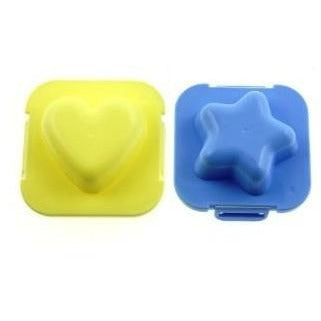 Star & Heart Egg Mould
