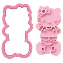 Load image into Gallery viewer, Hello Kitty Toast & Sandwich Cutter with Stamper