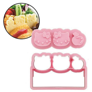 Create Your Own Edible Lunch Box Dividers (Baran) - Hello Kitty