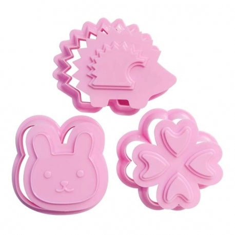 Bunny, Clover & Hedgehog Food Cutter & Stamper