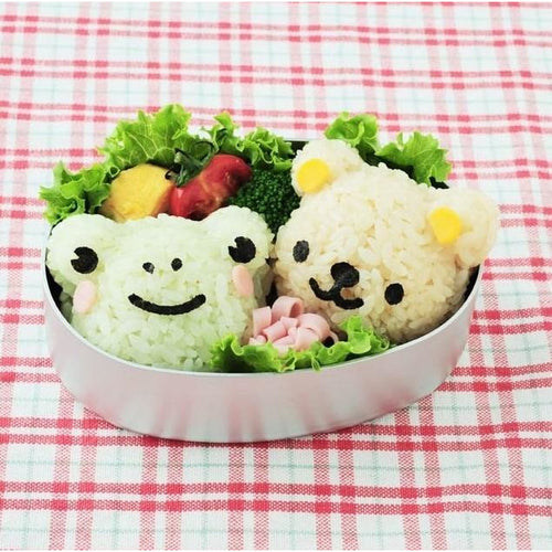 Bear Rice Mould Set