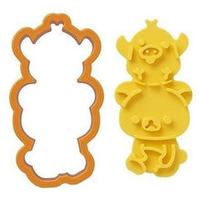 Load image into Gallery viewer, Rilakkuma Toast & Sandwich Cutter with Stamper