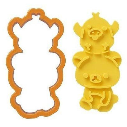 Rilakkuma Toast & Sandwich Cutter with Stamper