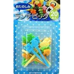 Colorful Transport Food Picks (20 Pack)
