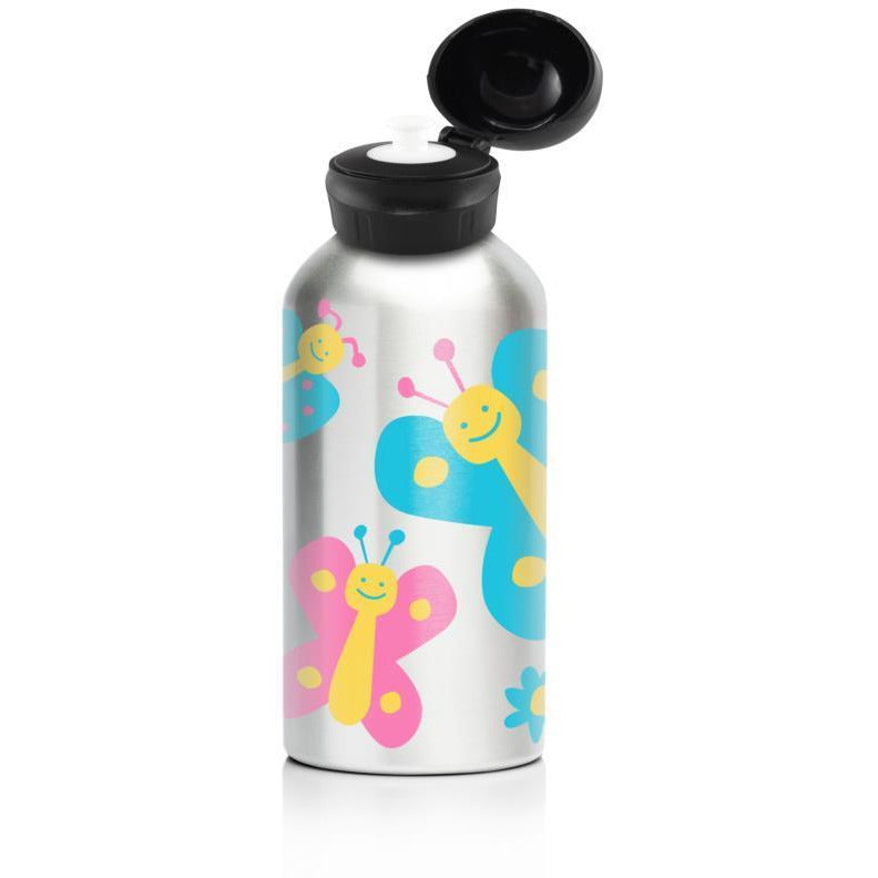 My Family Stainless Steel 400ml Bottle - Butterfly