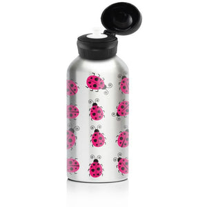 My Family Stainless Steel 400ml Bottle - Lady Bug