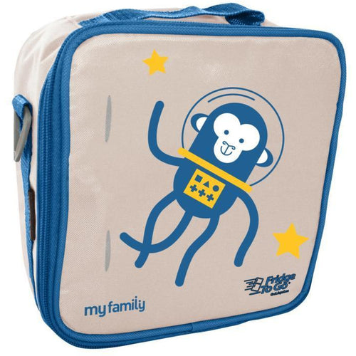 Fridge To Go My Family Lunch Bag - Space Monkey