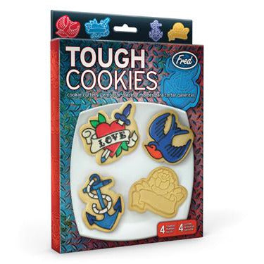 Tough Cookie Cutter & Stamper Set