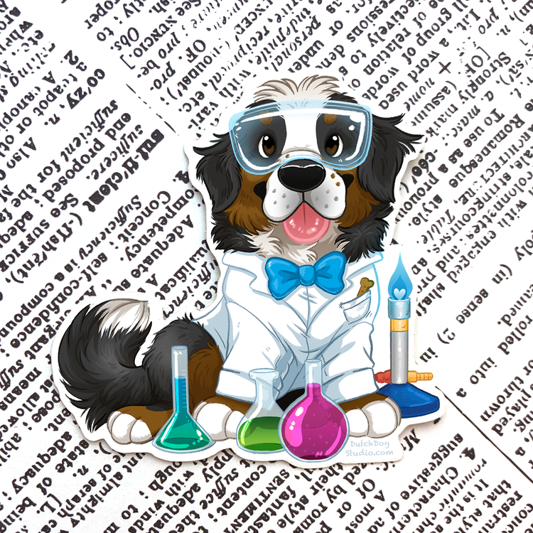 Sticker: Bunsen Berner