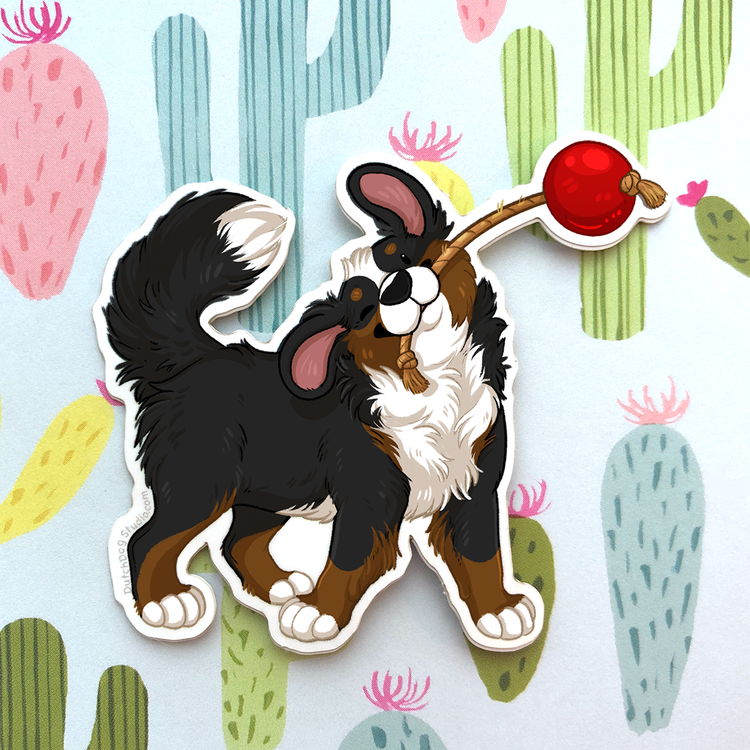 Sticker: Playful Berner