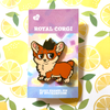 Royal Corgi - Hard Enamel Pin