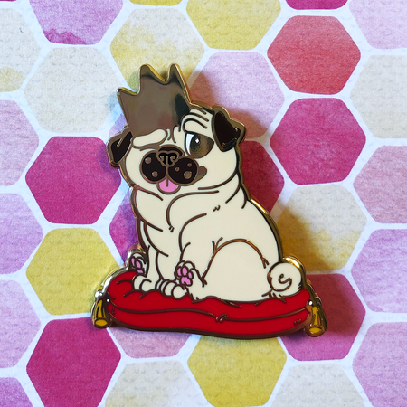 Royal Pug II - Hard Enamel Pin