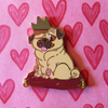 Royal Pug - Hard Enamel Pin