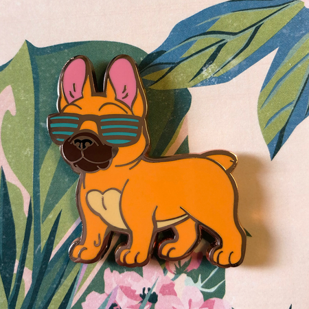 Fabulous Frenchie - Hard Enamel Pin