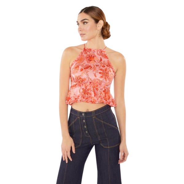 Organic Stripe Footies