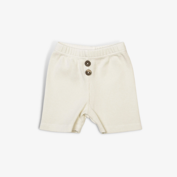 Organic Vintage Shorties in Vanilla